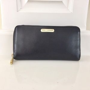 Pre-owned Rebecca Minkoff Black Leather Wallet